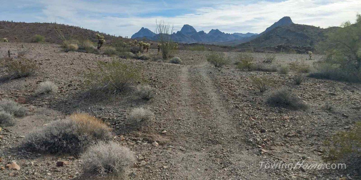 boondocking in the desert in quartzsite az