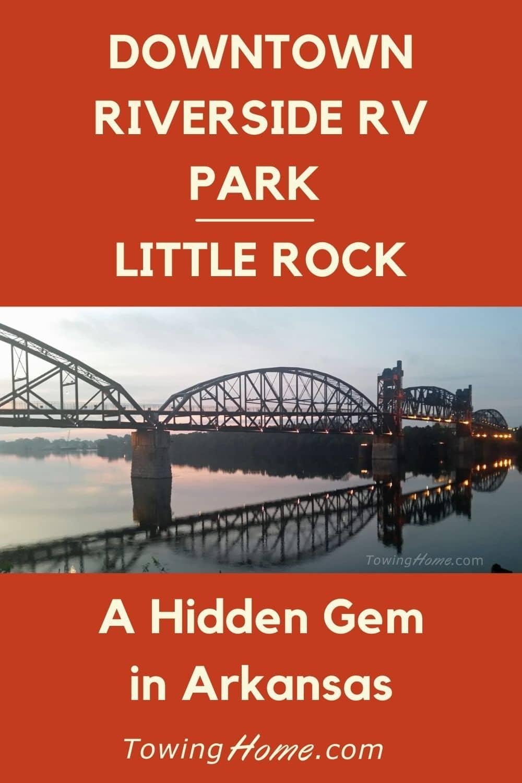 Hidden Gem - Downtown Riverside RV Park in Little Rock