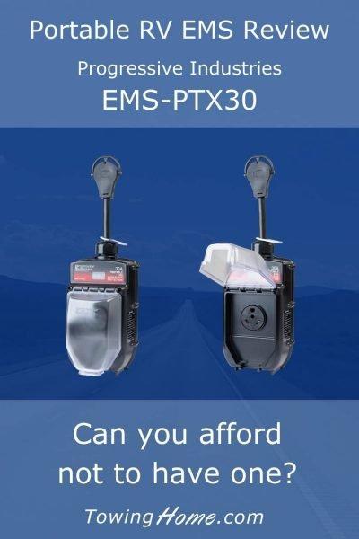 ems ptx30 portable rv ems pin