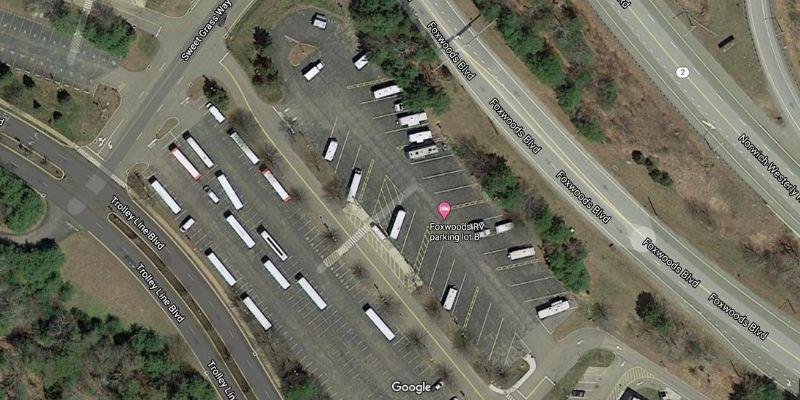 foxwoods free rv casino camping satellite view