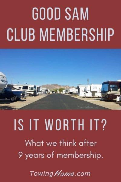 good sam club membership
