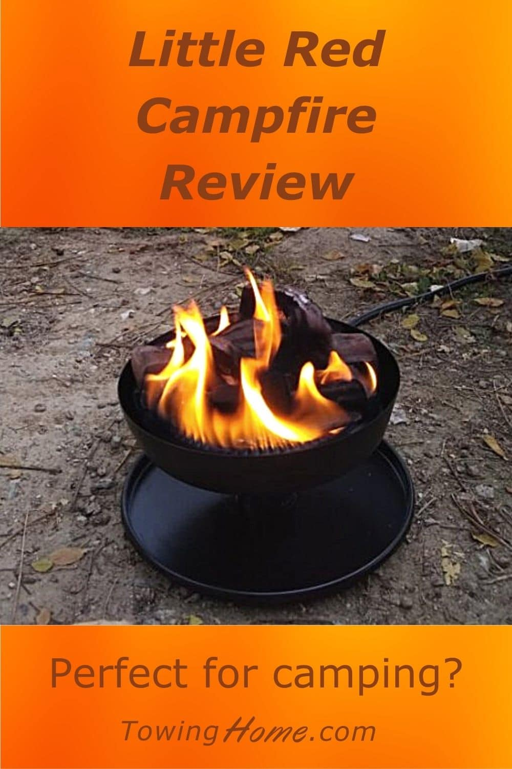 Little Red Campfire - Portable Propane Fire Pit Review
