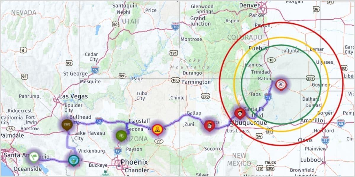 rv trip wizard route planning