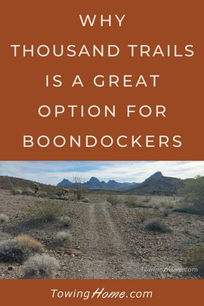 thousand trails for boondockers pin