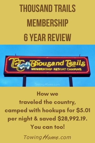 thousand trails membership 6 year review pin
