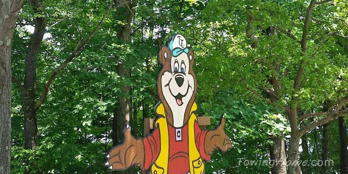 thousand trails membership bear mascot