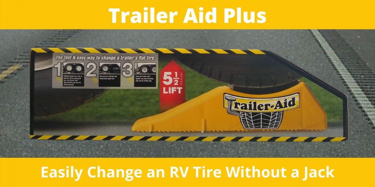 trailer aid plus easily change rv tire