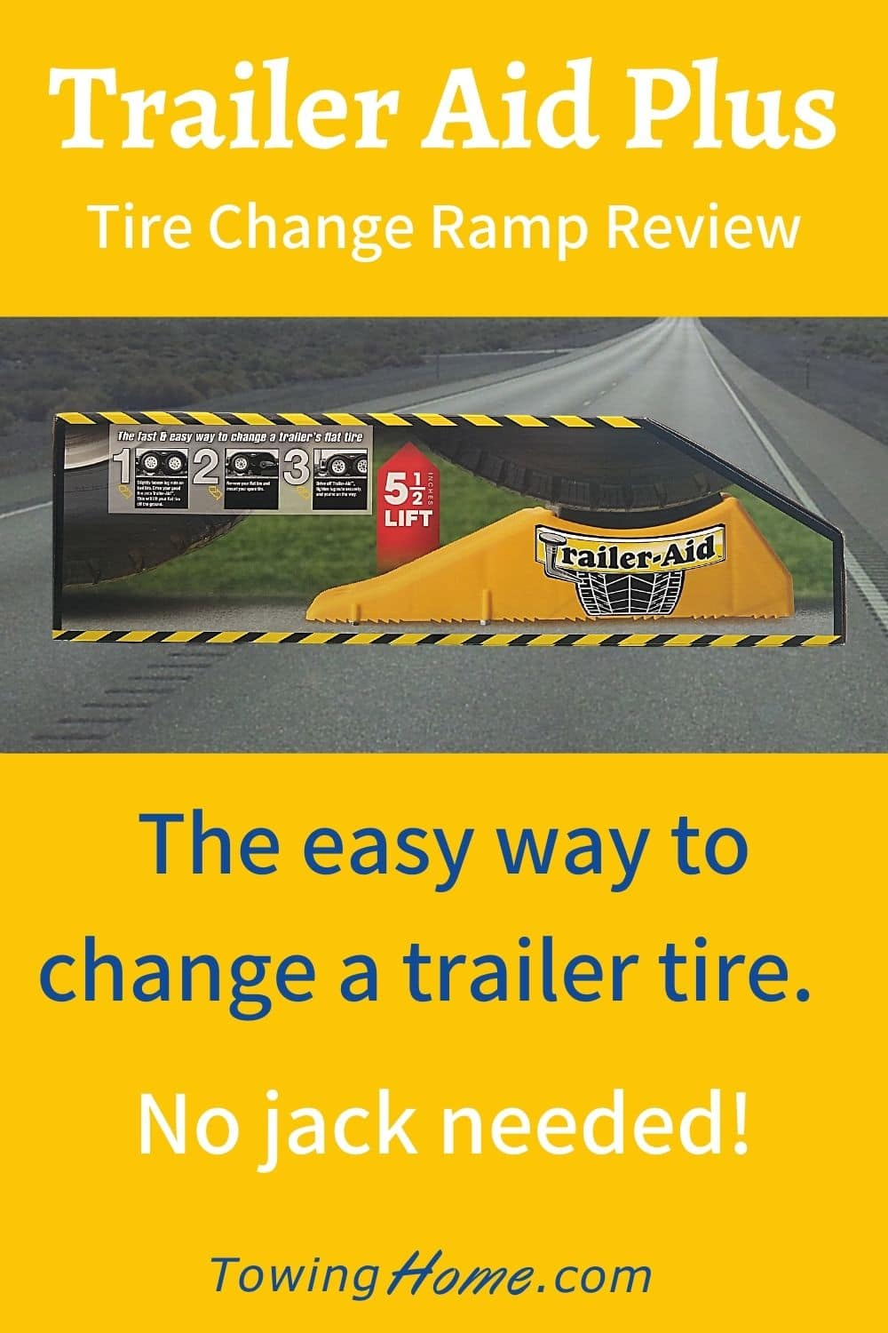 Trailer Aid Plus - Easily Change an RV Tire Without a Jack
