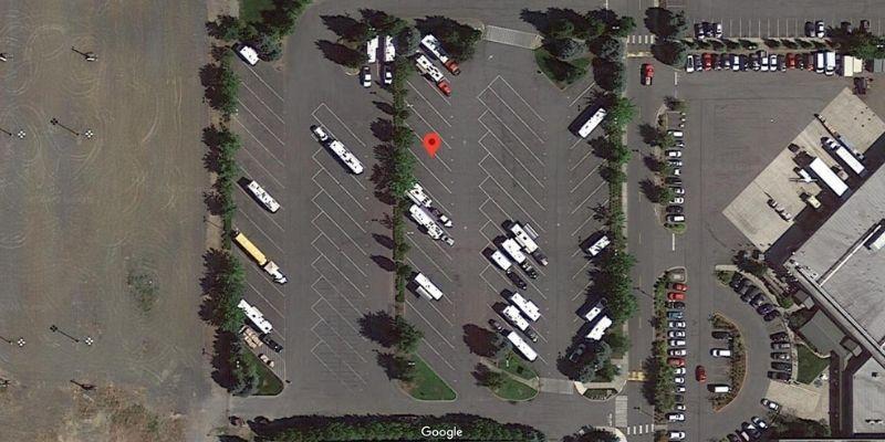 tulalip free rv casino camping satellite view