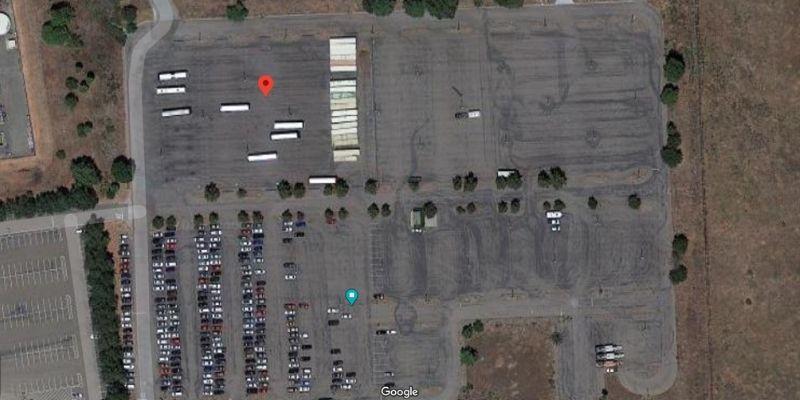 viejas free rv casino camping satellite view